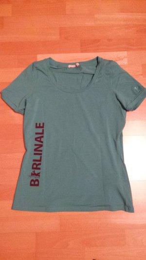 Grünes kurzärmeliges Berlinale-Shirt von Boss Orange, limitiert NEU