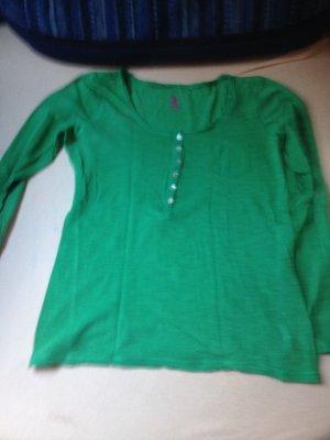Grünes langarmshirt Größe 38