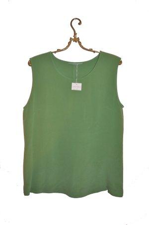 Grünes Luxus Seidentop Gr. 40 (M/L)