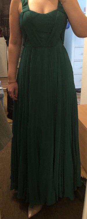 Grünes Maxi-Kleid