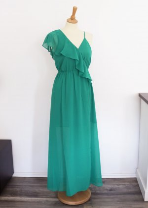 Angel Eye Maxi Dress green-forest green