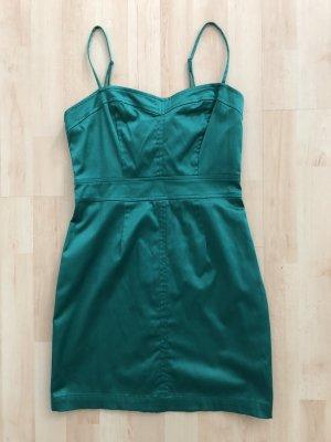 Grünes Minikleid