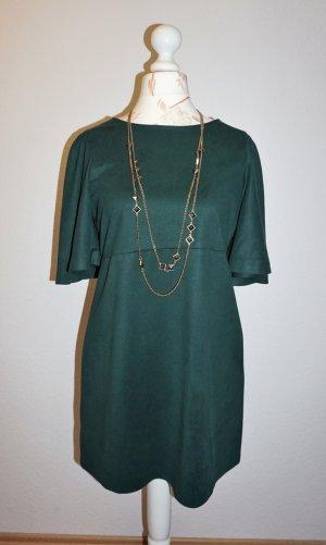 grünes Minikleid mit Flügelärmel von Zara TRF
