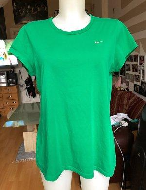 Grünes schlichtes Sport Nike Shirt L