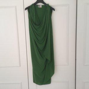 Grünes Seidenkleid von Lanvin Paris