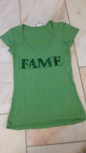 Oxmo Camicia fantasia verde-verde scuro