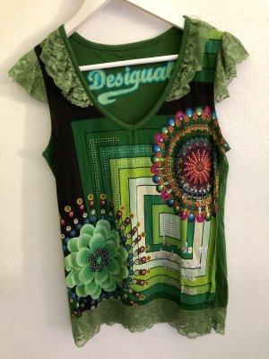 Grünes Shirt, Desigual