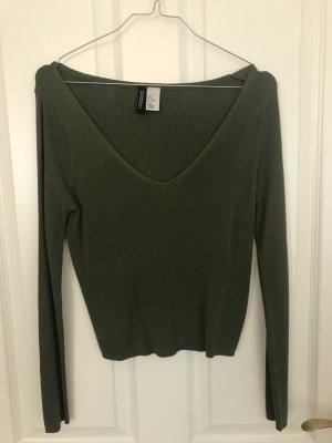 Grünes Shirt in Größe M