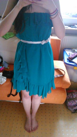 grünes Sommerkleid XS