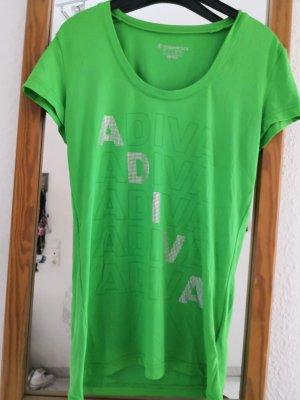 Grünes Sport T-shirt