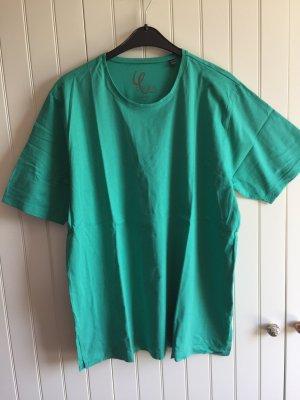 Grünes T-Shirt (basic fit) von Ulla Popken, Gr. 46/48
