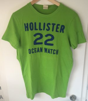 Grünes T-Shirt von Hollister