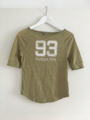 Grünes T-Shirt von Patrizia Pepe