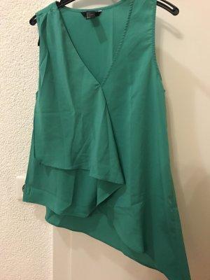 grünes Top von H&M in Größe 34