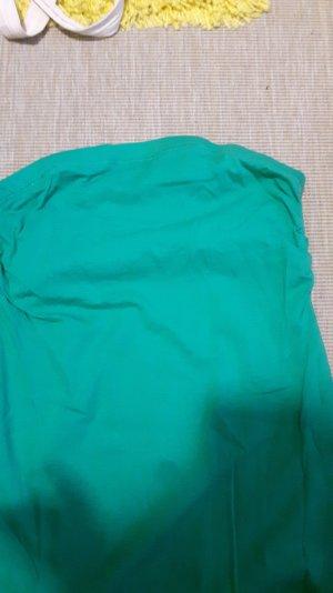 grünes trägerloses Top mit innenteil
