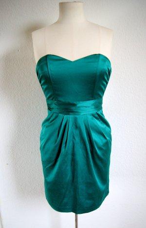 Grünes Tulpenkleid, Abendkleid preppy blogger
