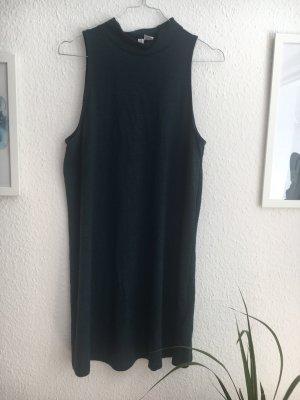 Grünes Turtleneck Kleid