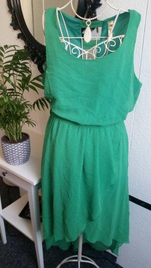 High Low Dress green