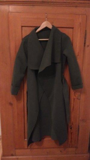 Grüngrauer Mantel