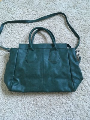 Carry Bag petrol imitation leather