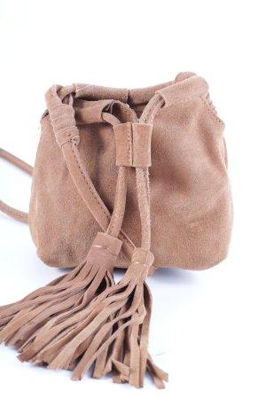 Grupo Inditex Mini Bag camel beach look