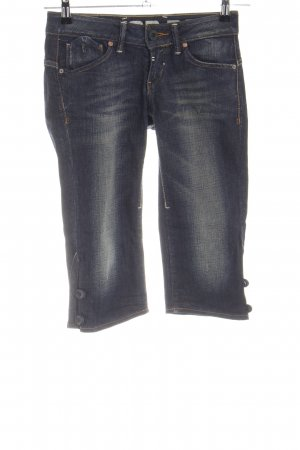 Gstar 3/4-jeans blauw casual uitstraling