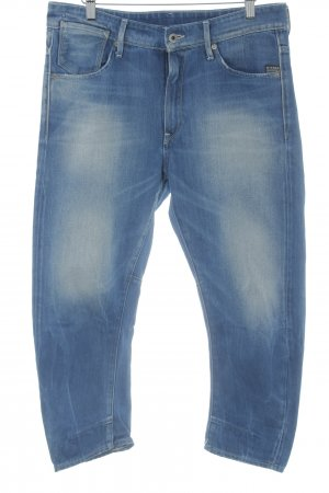Gstar 7/8-jeans blauw casual uitstraling