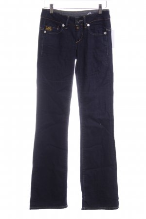 Gstar Boot Cut Jeans dunkelblau Casual-Look