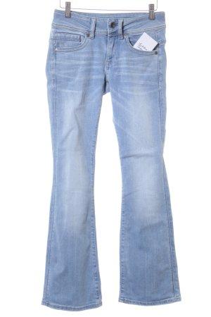 Gstar Boot Cut Jeans himmelblau Casual-Look
