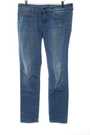 Gstar Boot Cut Jeans kornblumenblau Casual-Look