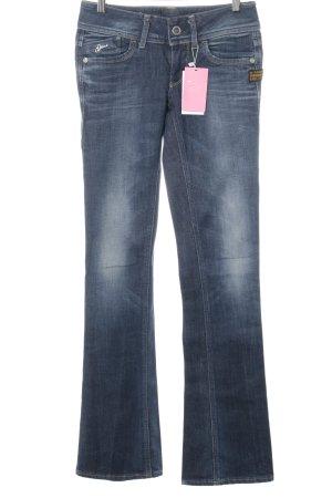 Gstar Boot Cut Jeans stahlblau Casual-Look