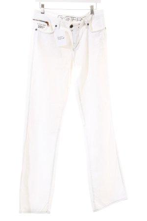 Gstar Boot Cut Jeans weiß Casual-Look