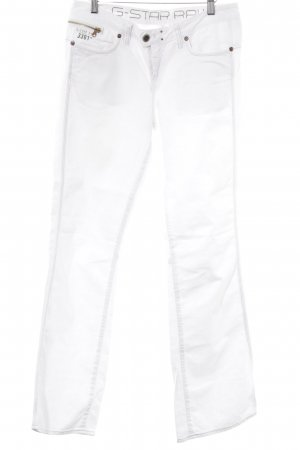 Gstar Boot Cut Jeans weiß Casual-Look
