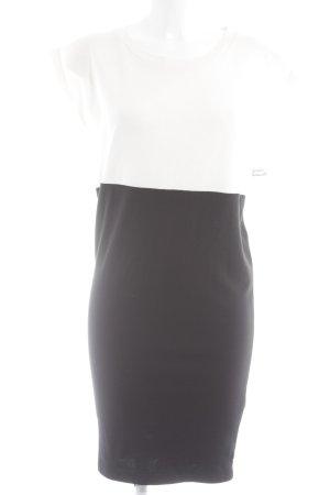 Gstar Etuikleid schwarz-creme Elegant