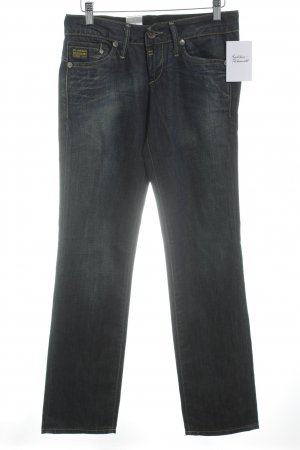 Gstar Hüftjeans dunkelblau Jeans-Optik