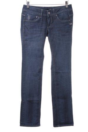 Gstar Low Rise Jeans dark blue jeans look
