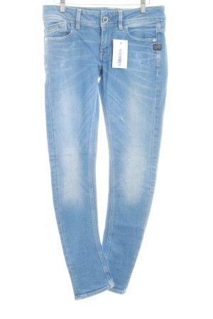 Gstar Hüftjeans kornblumenblau Jeans-Optik