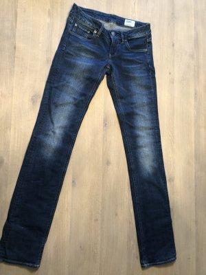 G-Star Raw Jeans vita bassa blu scuro