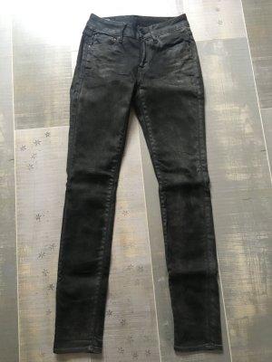 GStar Jeans schwarz / braun / anthrazit Gr. 26 / 32