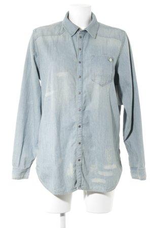 Gstar Denim Shirt light blue casual look