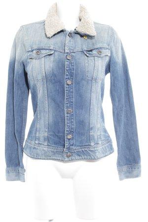 Gstar Jeansjacke himmelblau Jeans-Optik