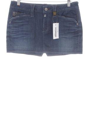 Gstar Jeansrock blau Jeans-Optik