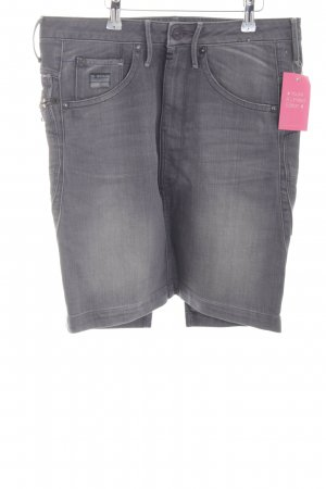 Gstar Jupe en jeans gris style décontracté