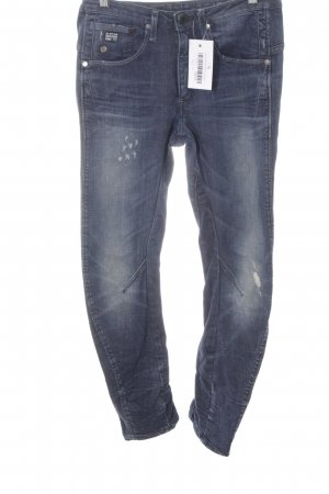 Gstar Carrot Jeans dark blue jeans look