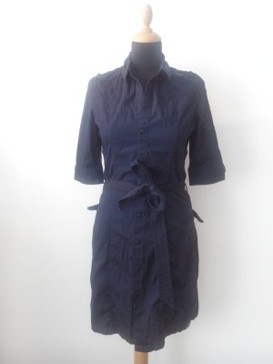 Gstar Kleid Hemdblusenkkeid Shirtdress navy dunkelblau Tunika