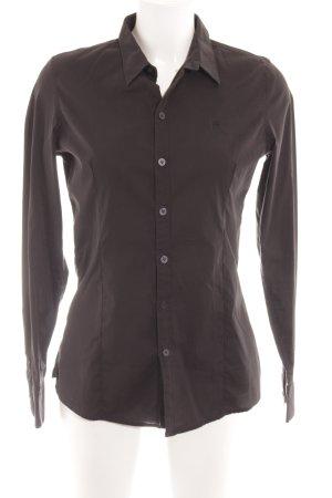 Gstar Langarmhemd schwarz Elegant