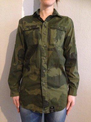 GStar Longbluse im Armylook Gr.36 *nur ein paar mal getragen, Mega Qualität