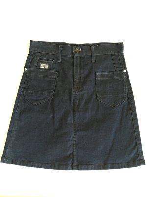 Gstar Low T A skirt, indigo, size 28, wenig getragen, Gr.36/38
