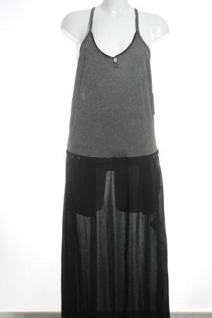 Gstar Robe longue noir-gris Look de plage
