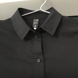 GSTAR RAW schwarze lässige strech Hemdbluse Gr. S